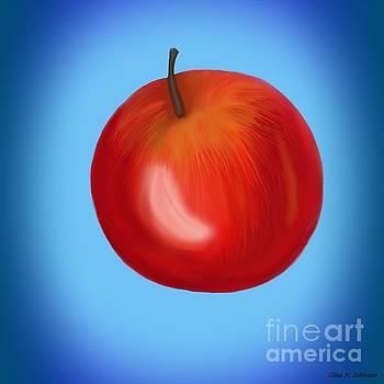 Gina Nicolae Johnson - Red apple