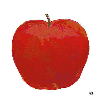 Red Apple I by Lisa Weedn