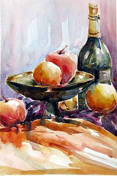 Red apple Red wine by Chito Gonzaga