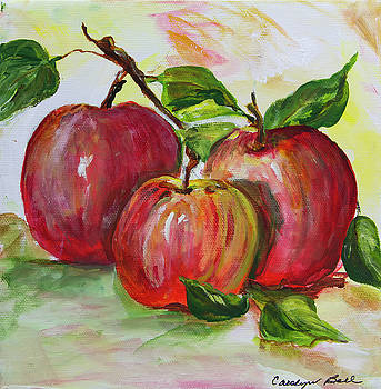 Red Apples by Carolyn Bell