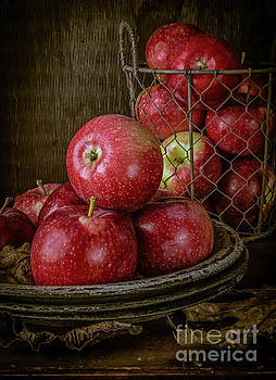Red Apples in the Barn by Edward Fielding