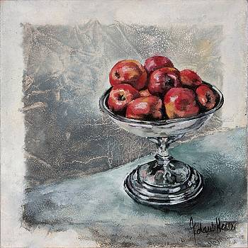 Red Apples by Jolante Hesse