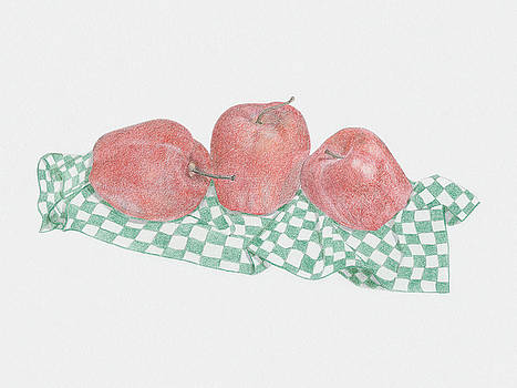 Red Apples by Tara Poole