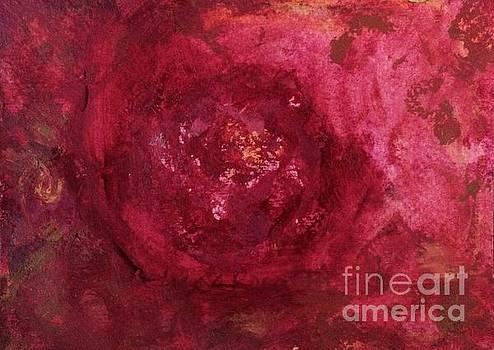 Red as a Rose II by Aase Birkhaug