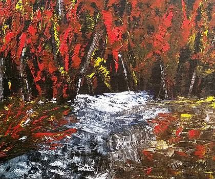 Red Autumn Brilliance by Sallie Wysocki