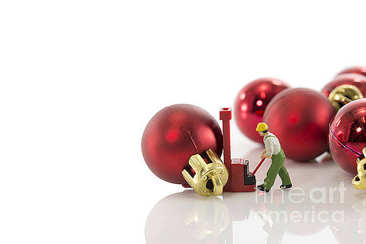 Compuinfoto  - red balls fro christmas
