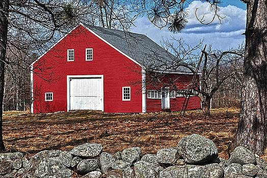Robert Hayes - Red Barn 01
