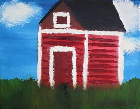 Artists With Autism Inc - Red Barn
