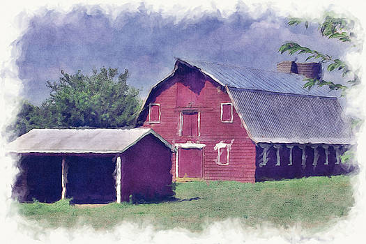 Red Barn by Christina Durity