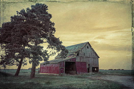 Red Barn Dingy Cream by Joe Ladendorf