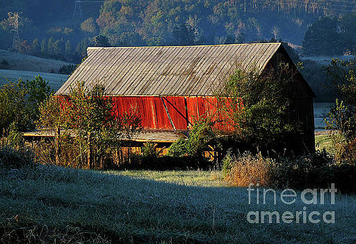 Red Barn by Douglas Stucky