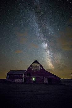 Red Barn Galaxy  by Aaron J Groen