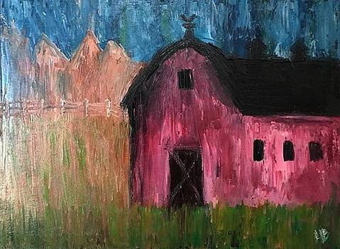 Red Barn by Heather Burningham