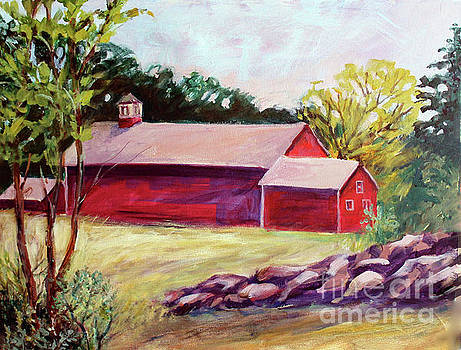 Red Barn I by Priti Lathia