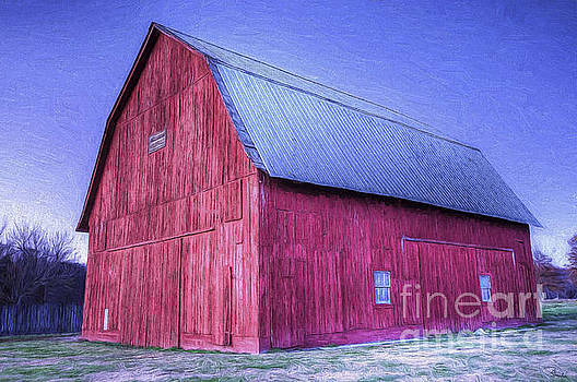 Red Barn by Joe Sparks