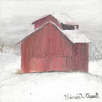 Red Barn by Linda Clark