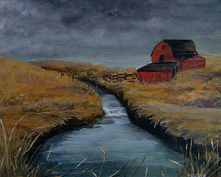 Red Barn by Rena Buford