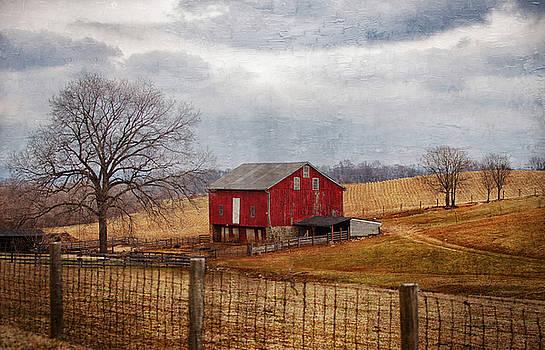 Red Barn by Scott Fracasso