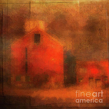 Red Barn Square by Eleanor Abramson