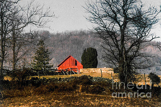 Red Barn  by Thomas Marchessault