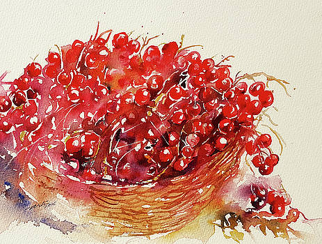 Red Berries by Arti Chauhan