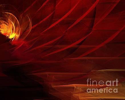 Red Blossom by Kim Sy Ok
