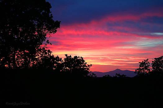 Joyce Dickens - Red Bluff CA Sunset