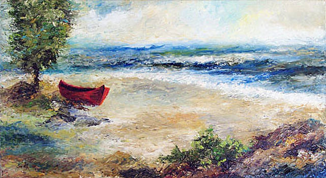Red Boat by Laura Swink