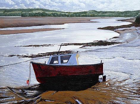 Red Boat by Mark Woollacott