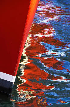 Red Bow Reflection by George Salter