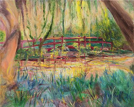 Red Bridge by Kathy Knopp