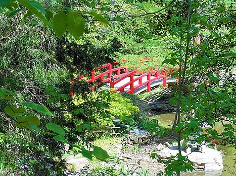 Red Bridge by Kay Gilley