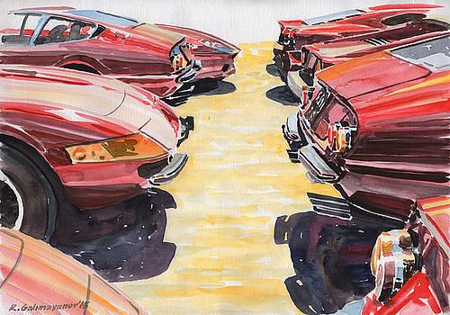Red Bullets by Rimzil Galimzyanov
