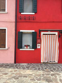 Red Burano by Rosemary Nagorner
