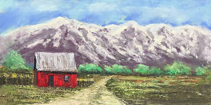 Red Cabin by Dennis Sullivan