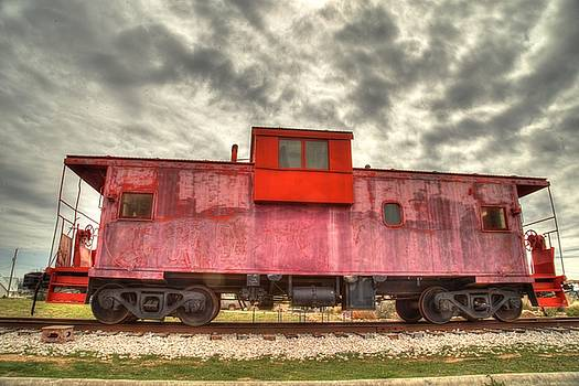 Red Caboose by Bonnie Davidson