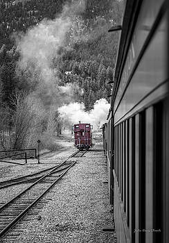 Red Caboose  by Julie Basile