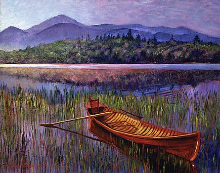 Red Canoe by David Lloyd Glover