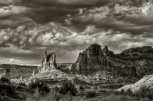 Red Canyon Storm by Kenneth Eis