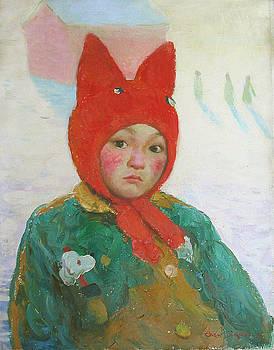 Red Cap by Ji-qun Chen