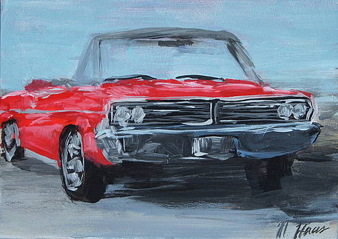 Red Car by Mary Haas