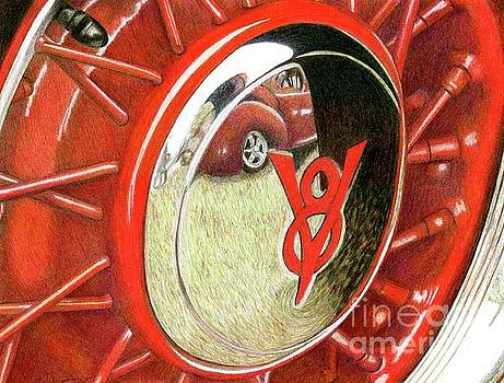 Red Car by Tammie Painter