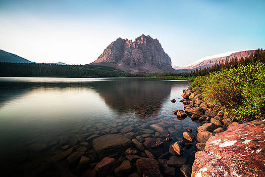 Red Castle Mountain Utah by James Udall