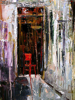 Red Chair by Debra Hurd
