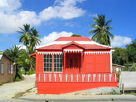 Red Chattel House by Barbara Marcus