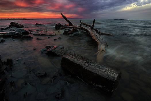 Red Chippewa Sunset by Jakub Sisak