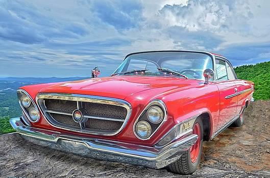 Red Chrysler 300 by Susan Leggett
