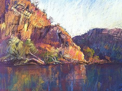 Red Cliffs by Pamela Pretty