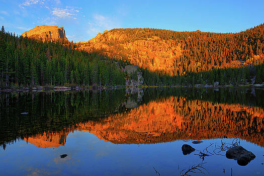 Red Dawn at Bear Lake by Greg Norrell