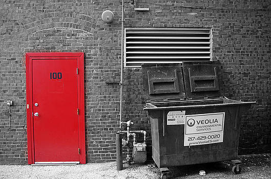 Red Door by George Strohl